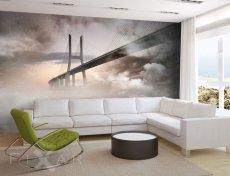 Bildtapeten, Die Brücke im Nebel